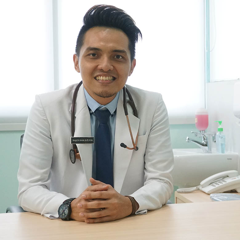 dr.Warigit Dri Atmoko, Sp.PD, M.Kes