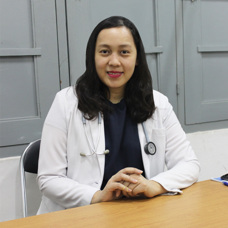 dr. Artrien Adhiputri, Sp.P, M.BioMed